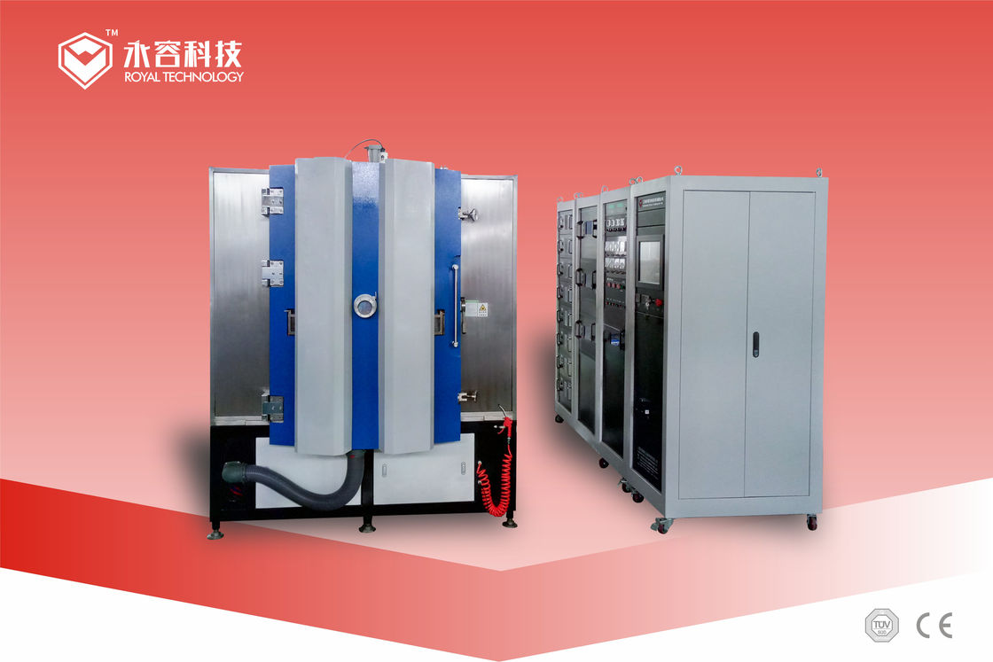 Electronic Circuit Board Copper Deposition Machine / Electronics Chips Magnetron Sputtering System
